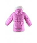 Mikka - Lány pufi kabát mályva színű