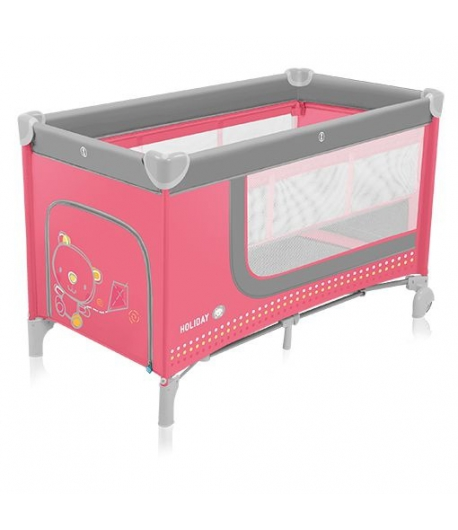 Baby Design Holiday utazóágy - 02 Pink