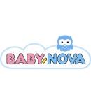 BabyNova Etetőcumi, szil, fogsz, tejes, 2db/csom,1-es méret