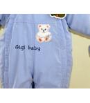 Gigi Bébi téli bundazsák, overál - kék