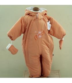 Gigi Bébi téli bundazsák, overál -narancssárga 74es méret