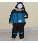 Zsil 2 részes fiú bélelt téli szett