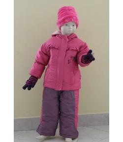 Gigi 2 részes lány bélelt téli szett rózsaszín