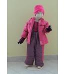 Gigi 2 részes lány bélelt téli szett rózsaszín több méretben