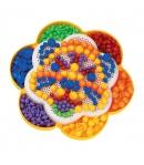 Quercetti Virág formájú pötyi készlet 260 darabos