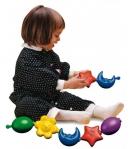 QUERCETTI Pattintós láncépítő játék bébiknek