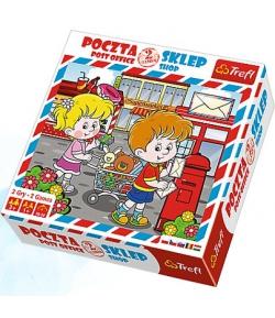 Posta és Bolt társasjáték - Trefl