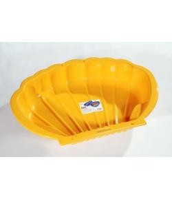 Műanyag kagylós homokozó / kismedence (több színben)