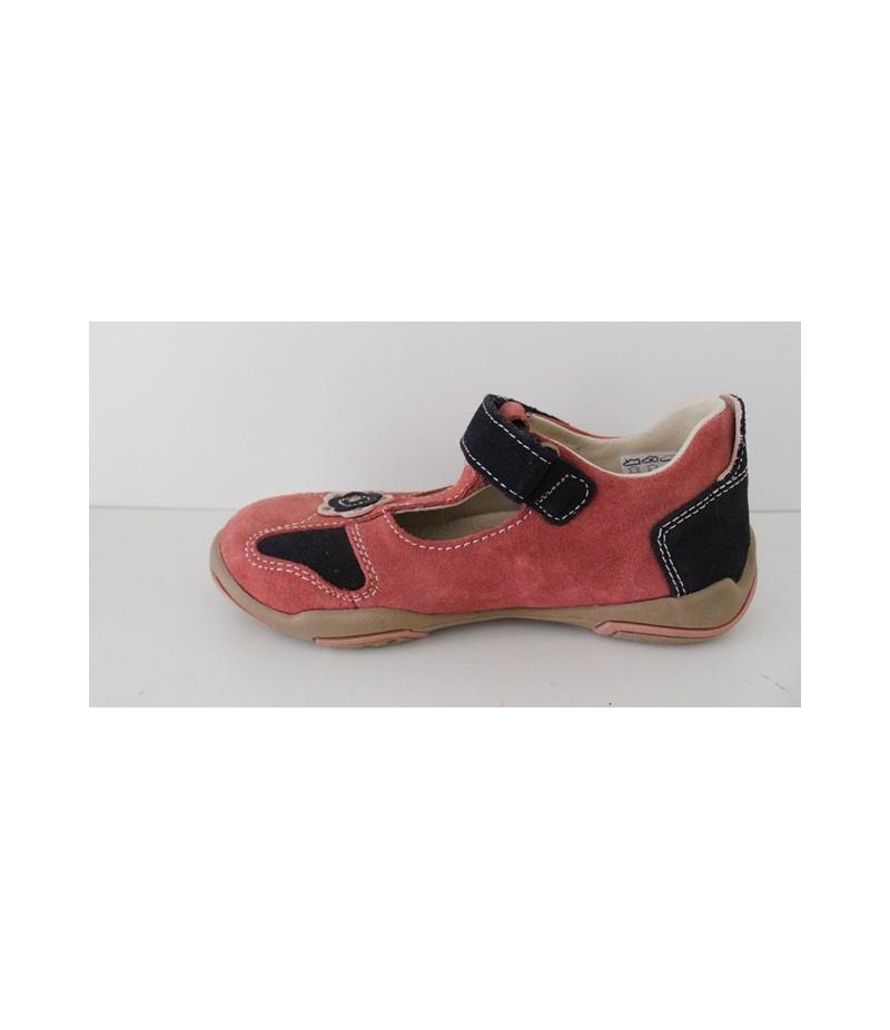 Mályva s.kék Nubuk szanda-cipő Siesta 6e28dd2dab