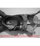 Három tépőzáras Siesta szandál lila-kiwi 33-as