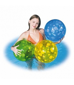 Bestway Splash and Play strandlabda 51 cm Sárga