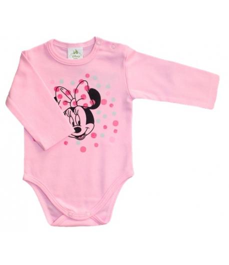 Disney Minnie v. rózsaszín hosszú ujjú kombidressz