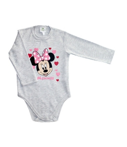 Disney Minnie szürke baba kombidressz 86-os