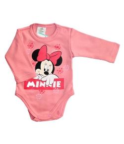 Disney Minnie hópelyhes hosszú ujjú kombidressz