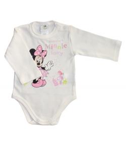 Disney Minnie törtfehér hosszú ujjú kombidressz