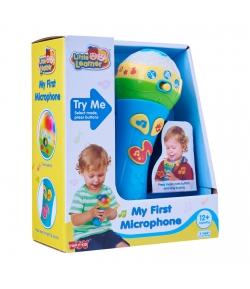 My first microphone- Az én első mikrofonom-babáknak