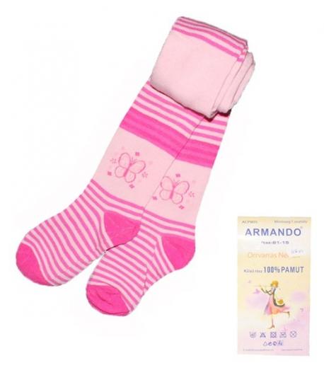 Armando - színes pamut harisnya 7-9 év