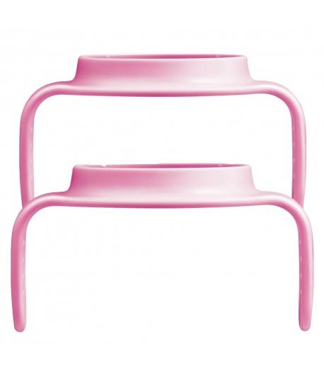 MAM Hold my Cup Csúszásmentes fogóka 2db-os - rózsaszín